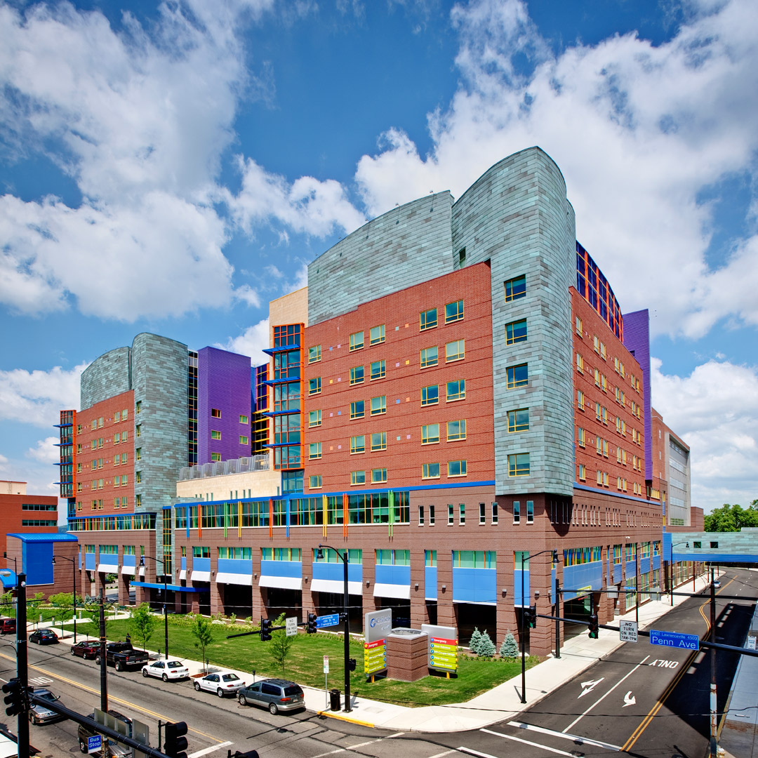 Children's Hospital of Pittsburgh of UPMC Close Up