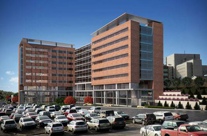 WVU Southeast Tower Expansion at Ruby Memorial Hospital